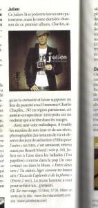 Chronique de l'album paru dans Chorus Magazine